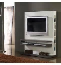 Meuble Tv But Blanc Laque