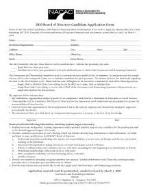 Board Member Application Template by Best Photos Of Candidate Review Form Exles