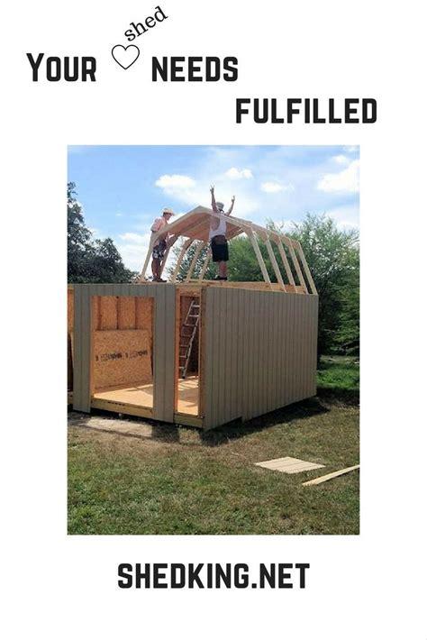 pin  shedkingnet build    shed plans shed