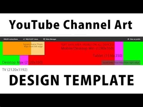 free channel template maker free channel template for new one channel