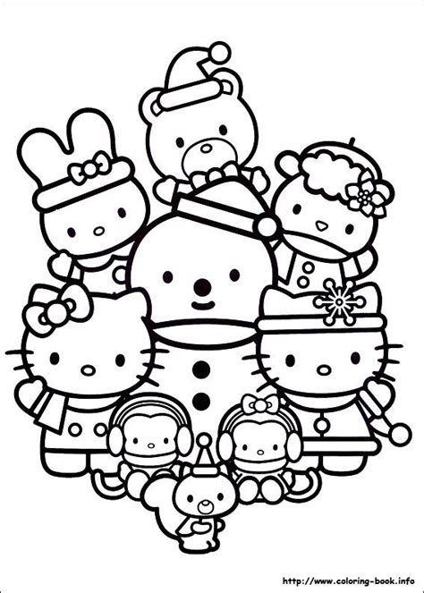 hello kitty and my melody coloring pages 158 best images about hello kitty coloring pages on