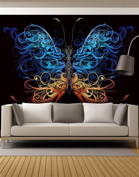 graphic wall murals peel and stick wall murals removable wall murals