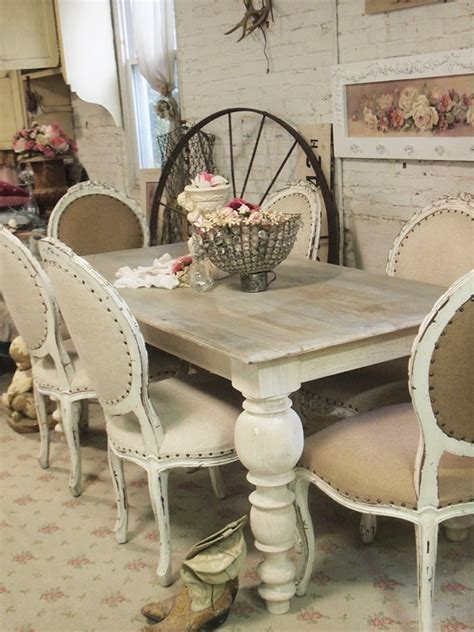 shabby chic dining room table painted cottage chic shabby linen dining table farm