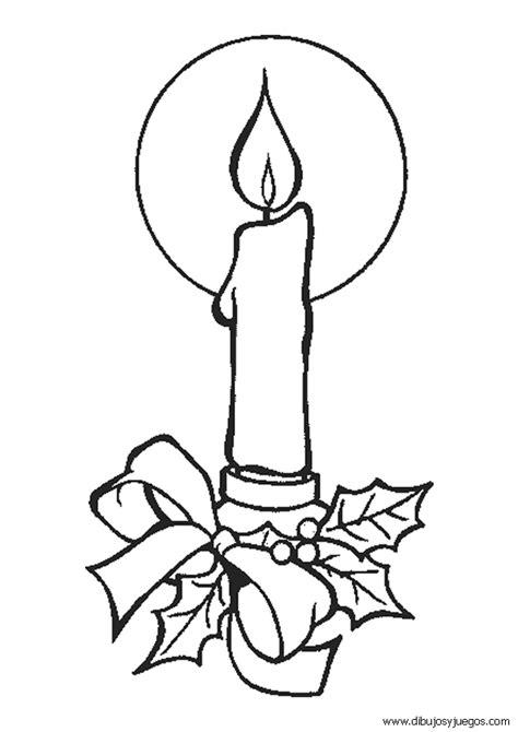dibujos de navidad para pintar juegos dibujos velas navidad 025 dibujos y juegos para pintar