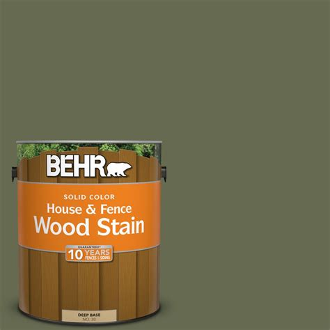 behr 1 gal sc 138 sagebrush green solid color house and fence wood stain 03001 the home depot