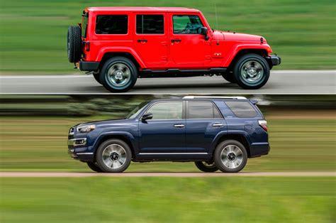 car compare 2017 jeep wrangler unlimited vs 2017 toyota