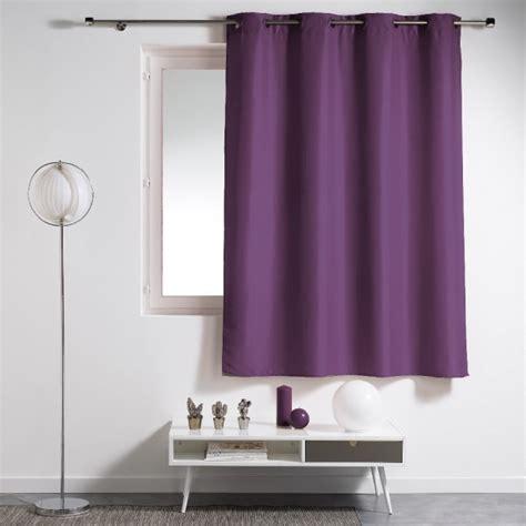 Rideau Voilage Prune by Rideau 224 Oeillets Plastique Uni Violet Prune Rideau