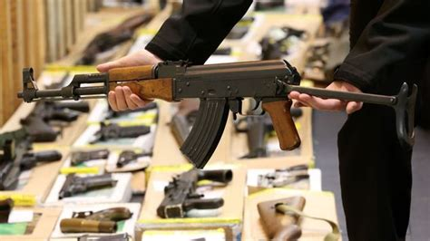 gun dealers mail firearms dealer jailed in illegal weapons hoard case daily mail online