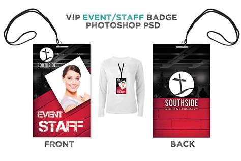 Even Staff Backstage Pass Digital316 Net Event Badge Template
