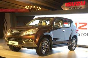 Isuzu Suv Price Isuzu Mu X Suv Launched In India Price Engine Specs