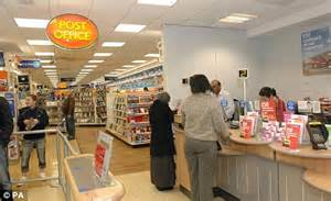 post office customers forced to queue for