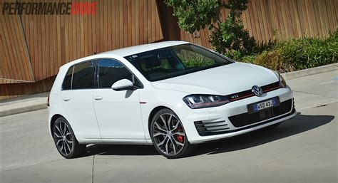 white volkswagen golf 2014 volkswagen golf gti performance mk7 review video