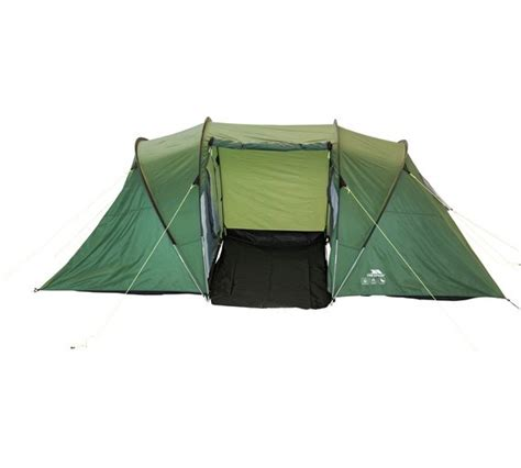 4 man tent with 2 bedrooms buy trespass 4 man 2 room tent at argos co uk your