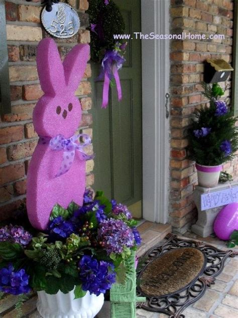 Easter Backyard Decorations by 25 Best Ideas About Outdoor Easter Decorations On