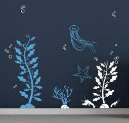 Sea Life Wall Stickers Sea Life Wall Decals Wall Decals Under The Sea
