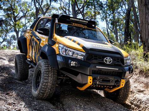 toyota offroad this toyota hilux tonka concept is the road