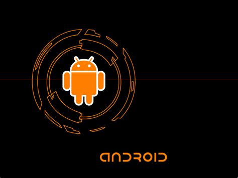 wallpaper for android deviantart orange android wallpaper by awesomefox on deviantart