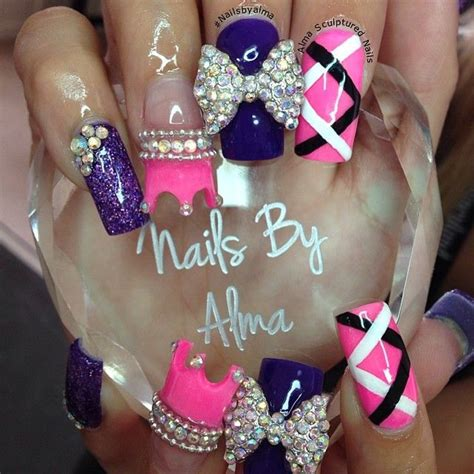 cute nail designs with a crown 194 best images about crown royal nails nail art gallery