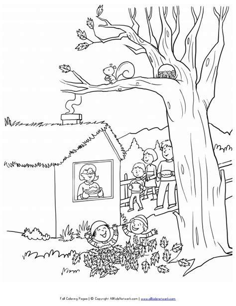 coloring pages of fall scenes 423 free autumn and fall coloring pages you can print
