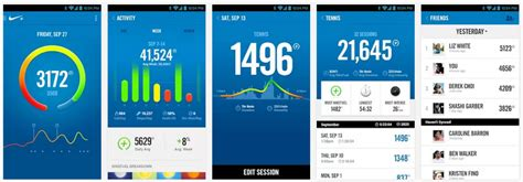 apps for android free nike fuelband app for android