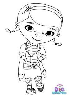 doc mcstuffins coloring pages dr odd