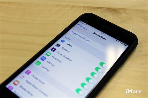 restrictions  parental controls  iphone  ipad imore