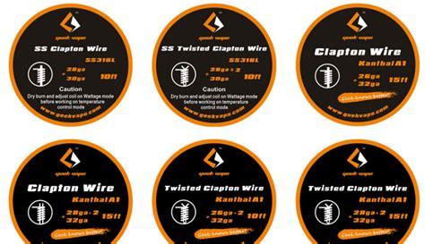 Wire Ss Ss316l 24 Geekvape Coil Vapor Vape original vape clapton wire vape clapton wire 15 99