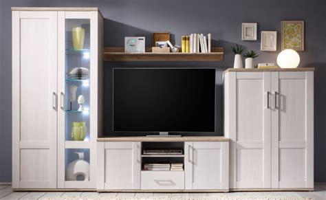 wohnzimmer anbauwand weiß dekor fernsehwand wohnzimmer