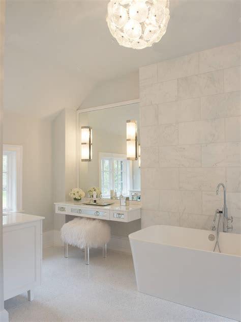 floating makeup vanity contemporary bathroom susan