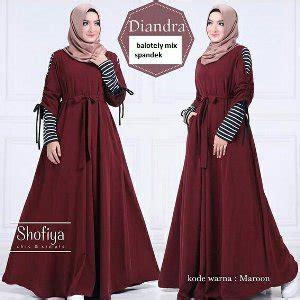 Baju Gamis Pesta Niara jual diandra dress atasan baju murah gamis maxi naira dress gaun pesta muslim cewek terbaru di