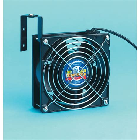 Imperial 5 Inch X 5 Inch Extra Quiet Black Circulating Fan