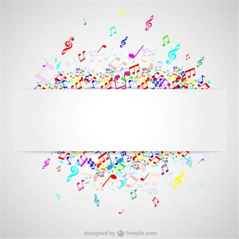 colorful  notes background vector