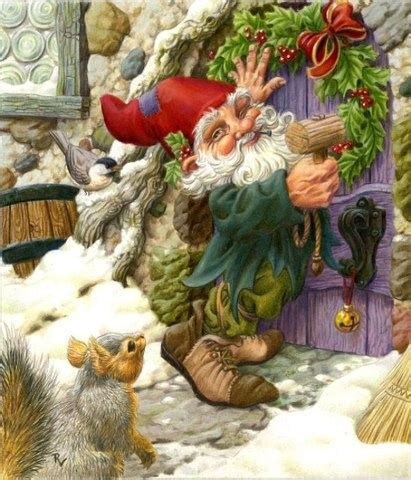 christmas gnome gnomes pinterest