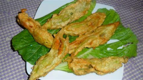 fiori di zucca fritti birra ricette con fiori di zucca la cucina di verdiana