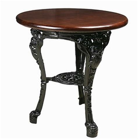 britannia table cast iron tables by trent furniture