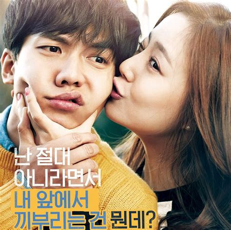 poster film romantis indonesia film romantis korea love forecast tayang di bioskop
