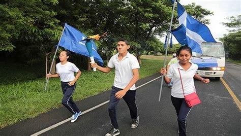 antorcha de independencia la fragua nicaragua entreg 243 a costa rica la antorcha de la