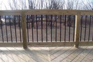 Decking Handrail And Spindles New Deck Project Part 3 Materials Budget Deck And