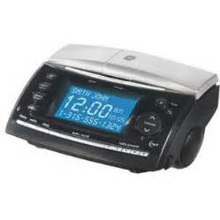 Bedroom Alarm Clock Radio Ge 27980ge3 2 4 Ghz Cordless Phone With Bedroom Clock