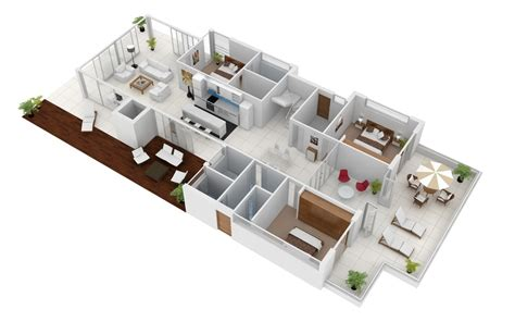 3d ground floor plan 3d gallery budde design brisbane perth melbourne
