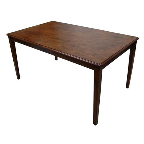 Shaker Dining Table Boraam Shaker Walnut Dining Table Ebay