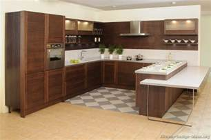 Wood Cabinets Kitchen Pictures Of Kitchens Modern Dark Wood Kitchens