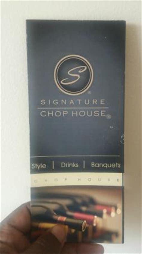 signature chop house signature chop house 플러싱 레스토랑 리뷰 트립어드바이저