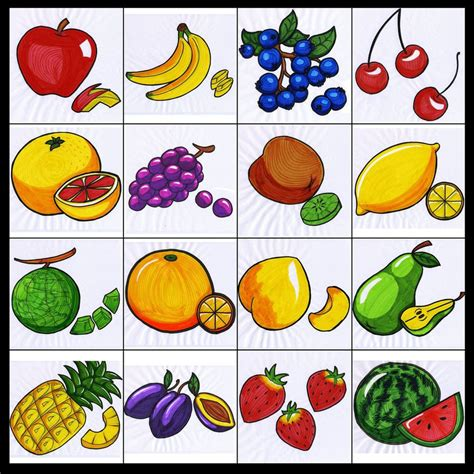 Picture Of Gift Card - fruit picture cards images