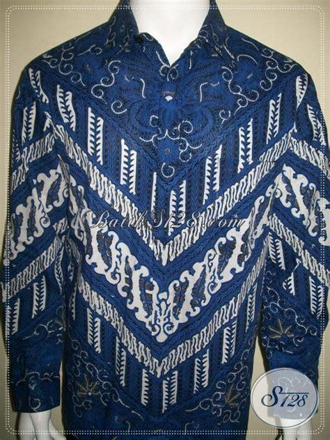 Kemeja Wanita Biru Muda Hem Abu Lengan Panjang Wanita hem batik biru lengan panjang til stylish untuk eksekutif muda sukses lp959bt l toko