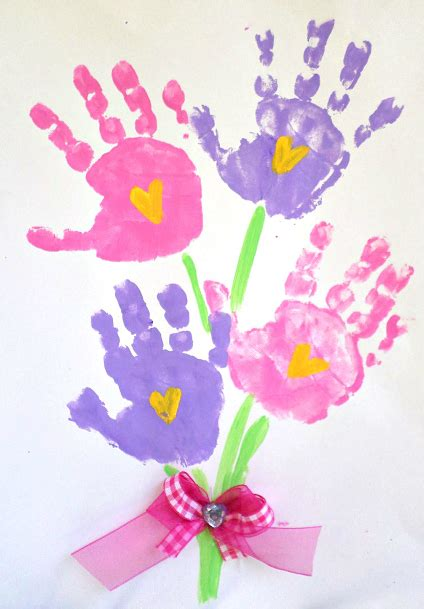 printable handprint mother s day poem crafty morning