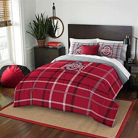 ohio state bed set ohio state university bedding bed bath beyond