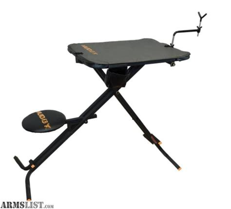 portable shooting table armslist for sale 3 portable shooting tables benches