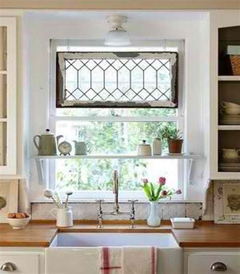 Kitchen Sink Window Treatment Ideas Window Treatments For Kitchen Windows Over Sink Decor