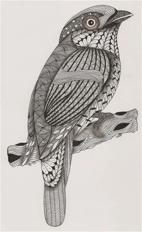 zentangle pattern sler 194 best images about zentangle birds on pinterest cute